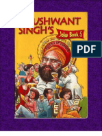 Khushwant Singh's Joke Book (Selected Jokes From Book 5)