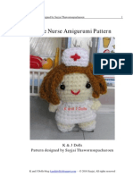 Little Nurse Amigurumi Pattern