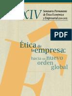 ética empresarial hacia un nuevo orden mundial[1]