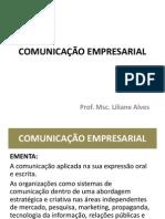 COMUNICAÇÃO EMPRESARIAL - apresentação