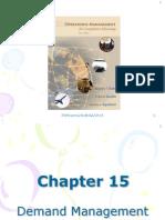 POM - Chapter 15 Demand Management 190111