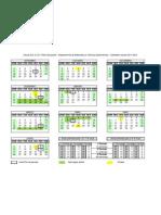 Calendário escolar-2011_2012