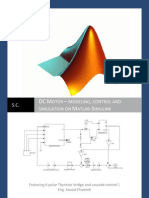 DC MOTOR – MODELING, CONTROL AND SIMULATION