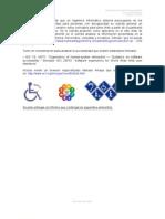 Accesibilidad a Para Discapacitados