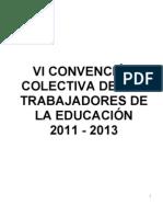 CONTRATO COLECTIVO 2011 2013
