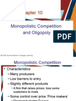 12858579 Ch 10 Monopolistic Competition and Oligopoly