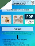 Neurofisiologia Del Dolor