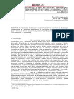 Sentencas Declaratorias Sentencas Prof Teori Albino Zavascki[1]