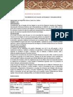 Perfil Proyecto San Miguel