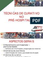 Tecnicas de Curativo Tecnicos de Enfermagem
