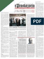 Zbor Praskozorja 1 - Januar 2011
