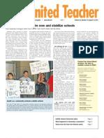 UTLA's United Teacher Newspaper - August 12, 2011