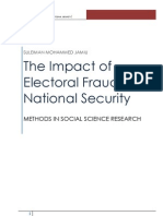 Impact of Electoral Fraud in Nigeria