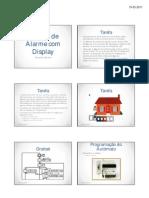 Sistema de Alarme Com Display-6D