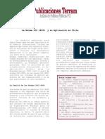 La Norma ISO 14001 y su aplicación en Chile