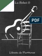 Partituras Guitarra Flamenca La Solea (IV) Oscar Herrero