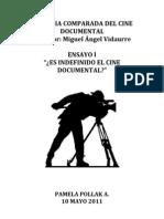 Ensayo Indefinido Cine Doc