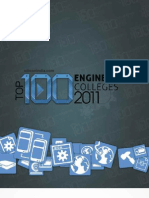 Survey Top100 Engineering Colleges (Silicon India 2011)