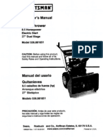 Craftsman 8-5 Hp Snow Blower Manual