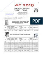 Price List May 2010. Ice Machines Only