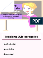 Improving Teaching Styles