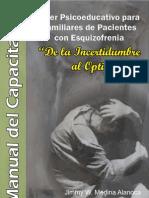 Manual Psicoeducacion Esquizofrenia - Familiares