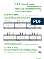 A & B Forms of Voicing