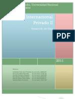 Guía de Estudio Derecho Internacional Privado II