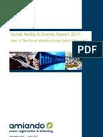 Social Media and Events Report 2011
