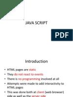 Chapter5 Java Script