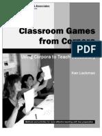 Corpora Games Book 103
