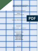 TALLER 4 Porf. Clemente Araúz