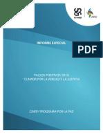 Cinep_informe Especial - Mayo de 2011