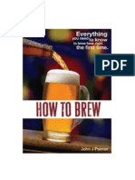 Cerveja - How to Brew
