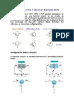 Configuraciones-Transistores-Bipolares