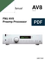 AV8 Service Manual Issue2 Complete