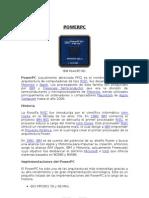 Investigacion de Arquitectura - POWERPC
