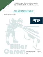 Billar - Argüello - recopilacion de teorias