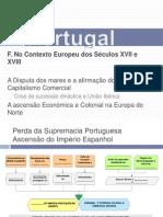 Portugal_ContextoEuropeu_Sec.XVII_XVIII-F. Uniao Iberica Restauracao