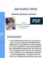 Terapia Auditivo Verbal, FINAL