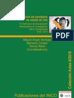 VII Seminario de Actualización Metodológica en Investigación sobre Discapacidad SAID, 2010