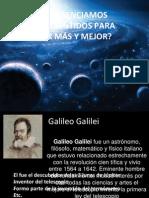 Galileo Galilei y Sus Descubrimientos (Copy)