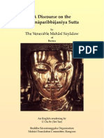 A Discourse on the Sammaparibbajaniya Sutta[1]