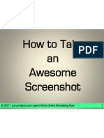How to Use Awesome Screen Shot