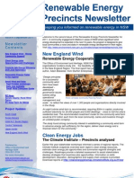 Renewable Energy Precincts Newsletter September
