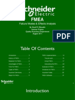 FMEA Failure Modes & Effects Analysis