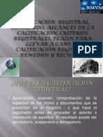 CALIFICACIONES REGISTRALES