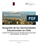 Geografia Oportunidades Educacionales