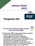 1. Pengantar IAD