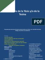 02 Estructura de La Tesis o Tesina